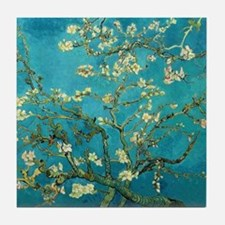 Vincent Van Gogh Blossoming Almond Tr Tile Coaster