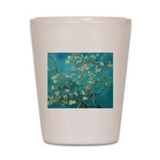 Vincent Van Gogh Blossoming Almond Tree Shot Glass
