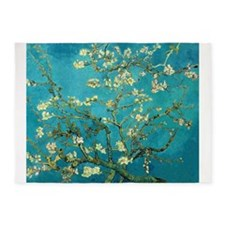 Vincent Van Gogh Blossoming Almond 5'x7'Area Rug