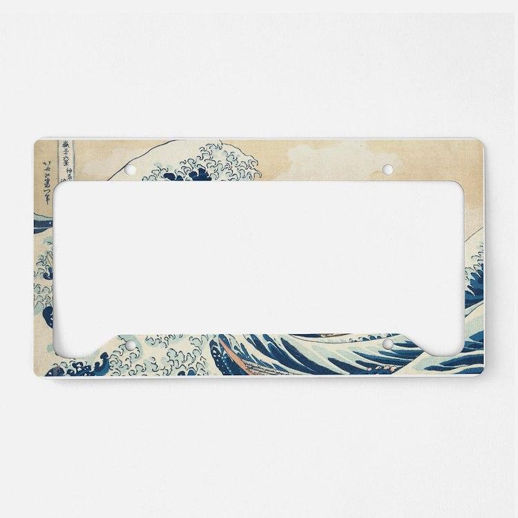 wave License Plate Holder