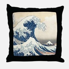 wave hello Throw Pillow