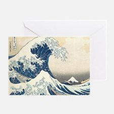 wave hello Greeting Card