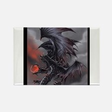 The Dragon of Despair Magnets