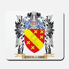 Cavallaro Coat of Arms - Family Crest Mousepad