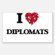 I love Diplomats Decal