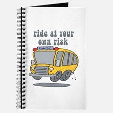 Ride At Your Own Risk Journal