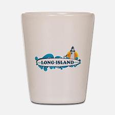 Long Island - New York. Shot Glass