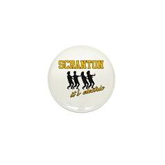 Scranton The Electric City Mini Button (100 pack)