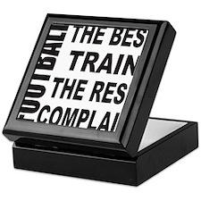 FOOTBALL/BEST TRAIN/REST COMPLAIN Keepsake Box