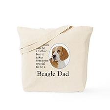 Beagle Dad Tote Bag