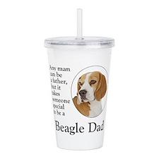 Beagle Dad Acrylic Double-wall Tumbler