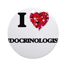 I love Endocrinologists Ornament (Round)