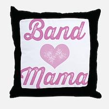 Band Mama Throw Pillow