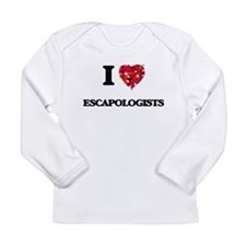 I love Escapologists Long Sleeve T-Shirt