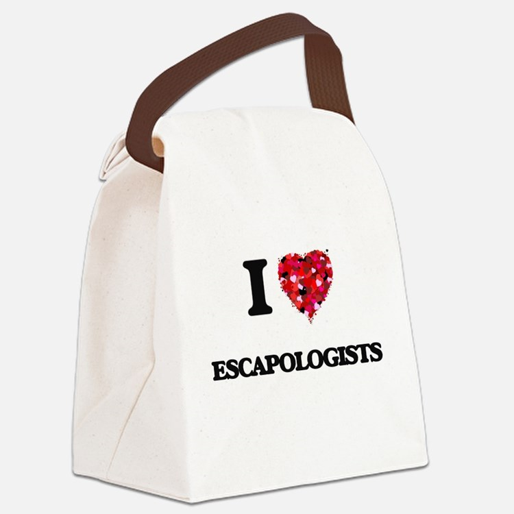 I love Escapologists Canvas Lunch Bag