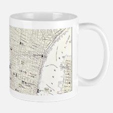 Vintage Map of Philadelphia (1885) Mugs