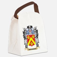 Chambers Coat of Arms - Family Cr Canvas Lunch Bag