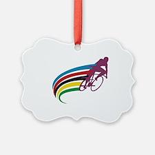 Cute Road bike Ornament