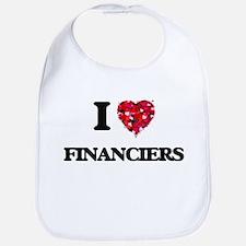 I love Financiers Bib