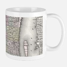 Vintage Map of Philadelphia (1855) Mugs