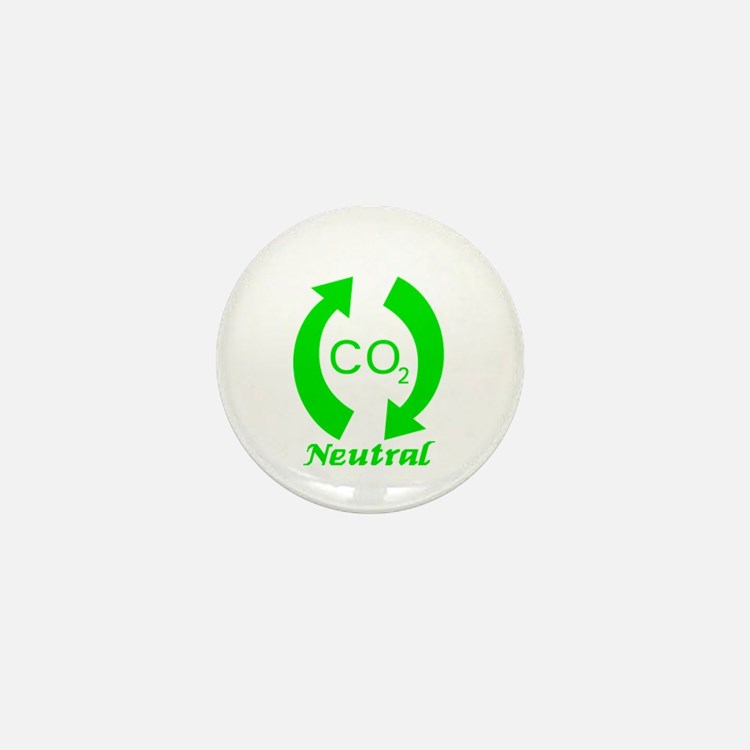 Carbon Neutral Mini Button