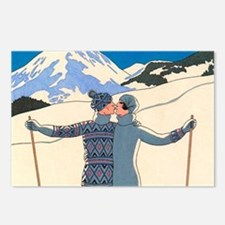 Art Deco by George Barbie Postcards (Package of 8)