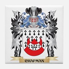 Chapman Coat of Arms - Family Crest Tile Coaster