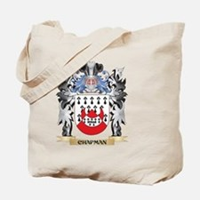 Chapman Coat of Arms - Family Crest Tote Bag