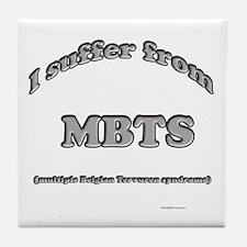 Terv Syndrome Tile Coaster
