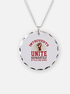 Introverts Unite Necklace