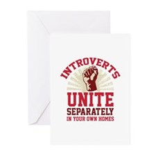 Introverts Unite Greeting Cards (Pk of 10)