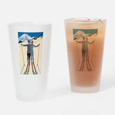 Art Deco by George Barbier Drinking Glass
