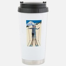 Art Deco by George Barb Stainless Steel Travel Mug