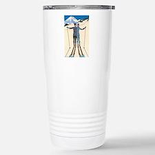 Art Deco by George Barb Travel Mug