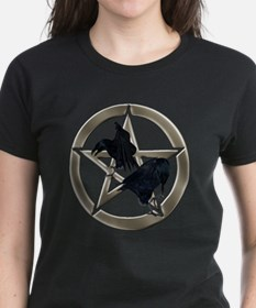 Silver Raven Pentacle T-Shirt
