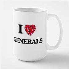 I love Generals Mugs