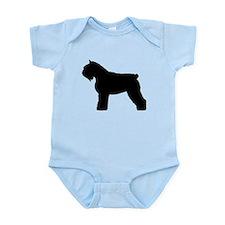 Bouvier des Flandres Dog Infant Bodysuit