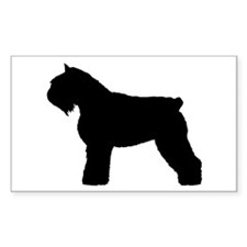 Bouvier des Flandres Dog Rectangle Decal