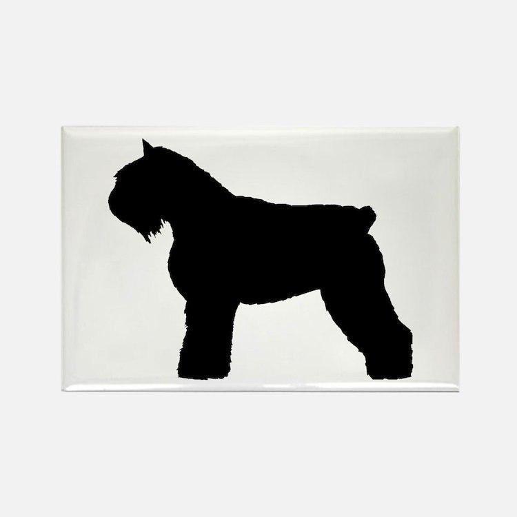 Bouvier des Flandres Dog Rectangle Magnet (10 pack