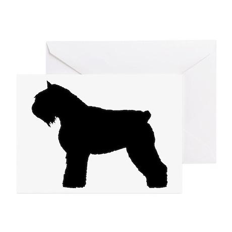 Bouvier des Flandres Dog Greeting Cards (Pk of 10)