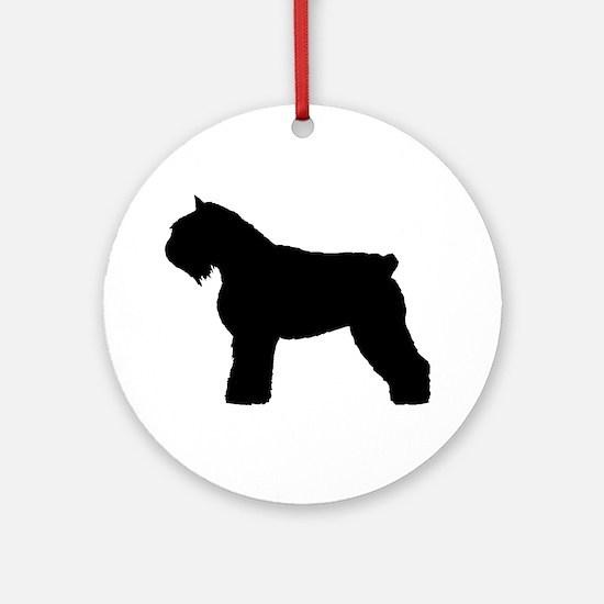 Bouvier des Flandres Dog Ornament (Round)