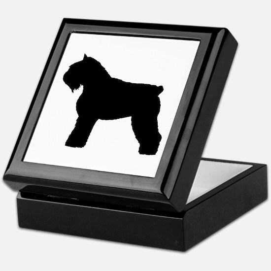 Bouvier des Flandres Dog Keepsake Box