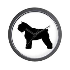 Bouvier des Flandres Dog Wall Clock