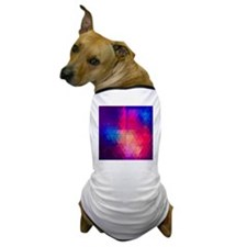 Colorful Abstract Geometric Pattern Dog T-Shirt