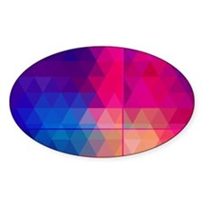Colorful Abstract Geometric Pattern Decal