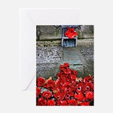 Clay poppies Greeting Cards