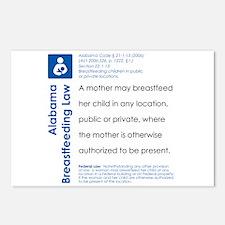 Breastfeeding In Public Law - Alabama Postcards (P