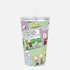 Peanuts Classic Comics Acrylic Double-Wall Tumbler
