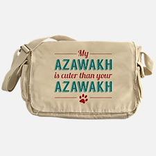 Cuter Azawakh Messenger Bag