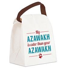 Cuter Azawakh Canvas Lunch Bag